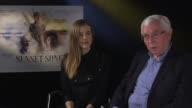 INTERVIEW Agyness Deyn Terence Davies on peoples life's being hard in the past human journey always being the same the struggle's of being human...