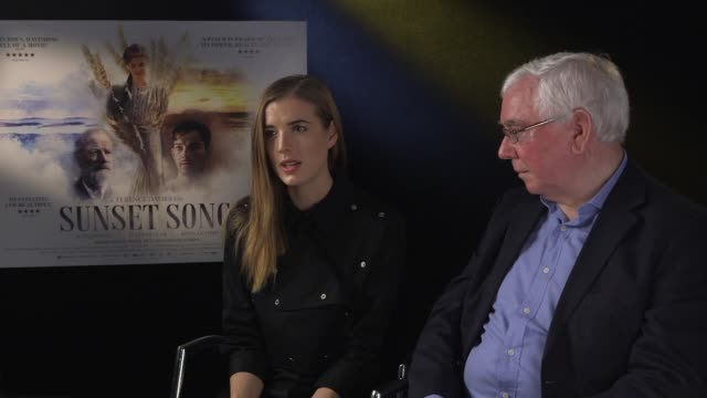 INTERVIEW Agyness Deyn Terence Davies on working independent films going back to basics with independent films at Sunset Song interview on December...