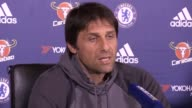 Ahead of Chelsea's clash with Manchester City in the Premier League Antonio Conte talks about his side reacting to their shock defeat to Crystal...