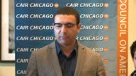 WGN Ahmed Rehab Executive Director of the Chicago office of the Council on AmericanIslamic Relations holds a press conference there on Nov 9 to...