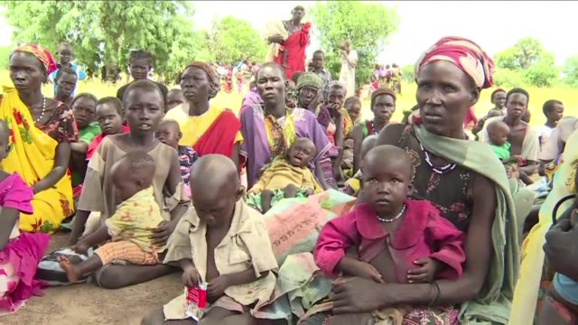 Aid agencies are intensifying their efforts to tackle malnutrition in South Sudan where a brutal conflict has left millions homeless and hungry