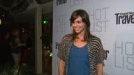 Aida Mollenkamp at the Conde Nast Traveler Hot List Party at West Hollywood CA
