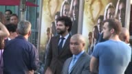 Aidan Turner arrives at The Mortal Instruments City Of Bones premiere at the Arclight in Hollywood 08/12/13