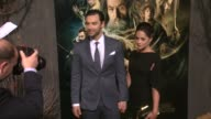 Aidan Turner at 'The Hobbit The Desolation Of Smaug' Los Angeles Premiere in Hollywood CA on 12/2/2013
