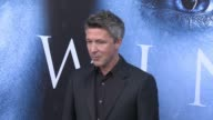Aiden Gillen at 'Game of Thrones' Season 7 Premiere at Walt Disney Concert Hall on July 12 2017 in Los Angeles California