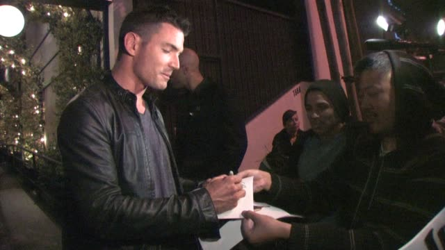 Aiden Turner leaving STK in West Hollywood at the Celebrity Sightings in Los Angeles at Los Angeles CA
