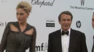 Aimee Mullins at the amfAR Gala Red Carpet Arrivals 64th Cannes Film Festival at Antibes