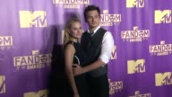 Aimee Mullins Rupert Friend at ComicCon International 2015 MTV Fandom Awards on July 09 2015 in San Diego California