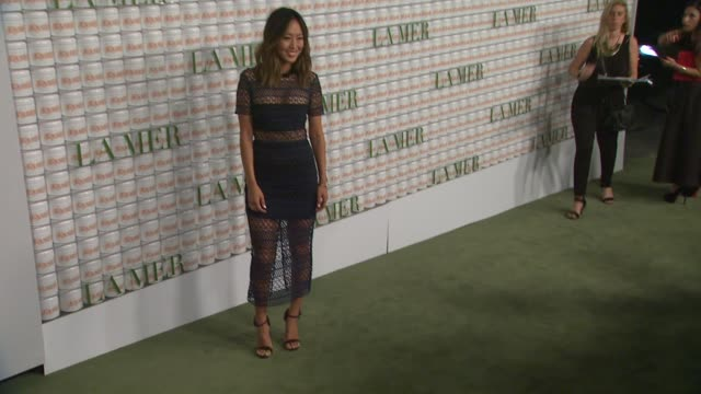 Aimee Song at La Mer Celebrates 50 Years of An Icon at Siren Studios on October 13 2015 in Hollywood California