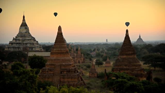 Air Ballons Bagan Temples