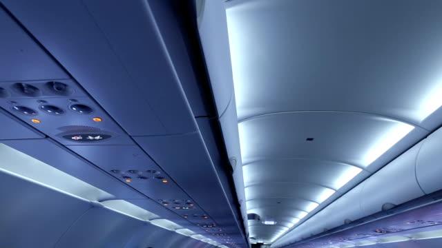 Luft im Flugzeug.