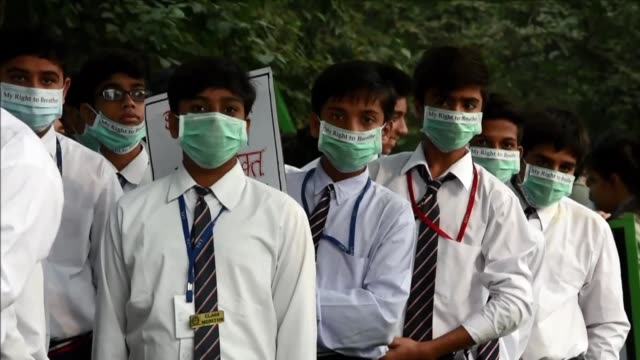 Air pollution in New Delhi continues to worsen and officials warn of little relief in sight from the smog which has even caused one airline to cancel...