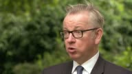 New diesel and petrol vehicles to be banned in UK from 2040 Michael Gove MP interview SOT Today we're confirming as part of our plan to deal with air...