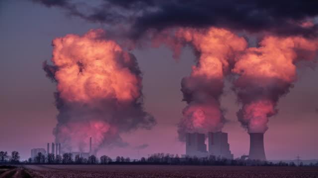 Luftverschmutzung-Power Pflanze