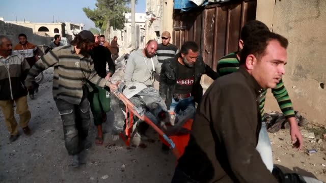 Air strikes on a market killed at least 29 civilians including children in a town in northern Syria on Monday despite a de escalation zone in place...