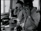 RAF air traffic control room El Gamil airbase Suez Crisis Egypt 22 Nov 56