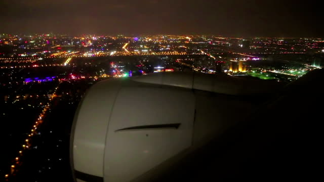 Air Travel at Night