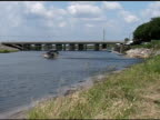 Airboats Headed Into the River