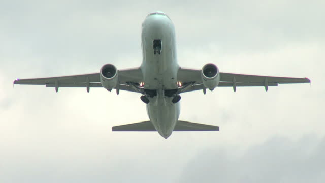 Airbus A320 Airplane take off
