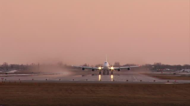 Flugzeuge Absprung