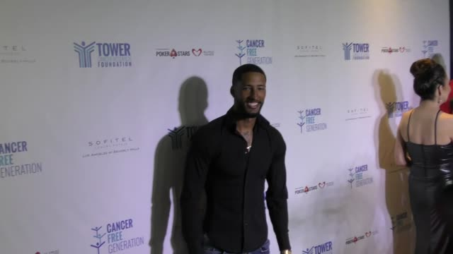 Aire Justin at The 4th Annual 'Ante Up For A Cancer Free Generation Poker Tournament and Casino Night' at Sofitel Los Angeles At Beverly Hills on...