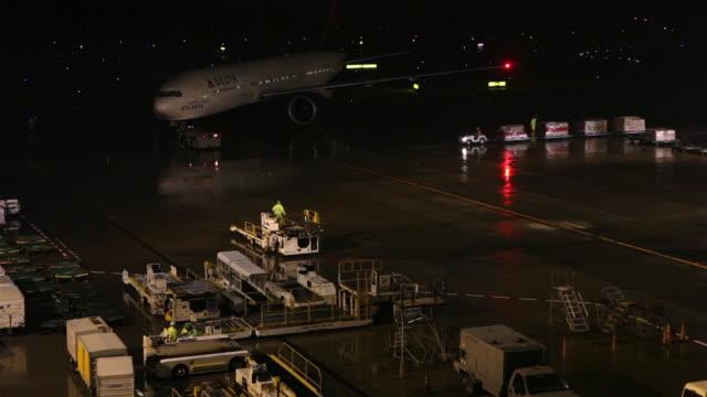 Airplane at Narita Airport