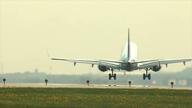 Vliegtuig Landing
