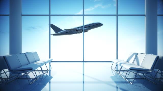 Airplane Taking Off | Airport Terminal