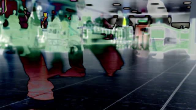 Airport Baggage Claim X-Ray Security. HD, NTSC, PAL