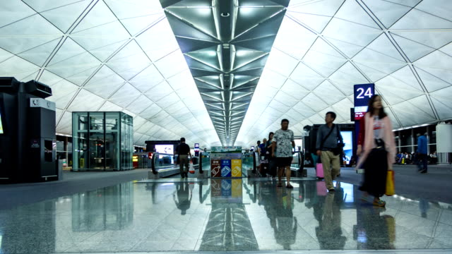 Flughafen Concourse