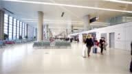 Lounge aeroportuale per le partenze