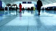 Airport Travelers People