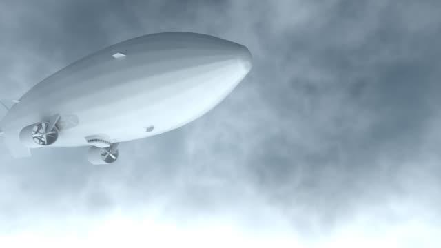 Airship Flyby render