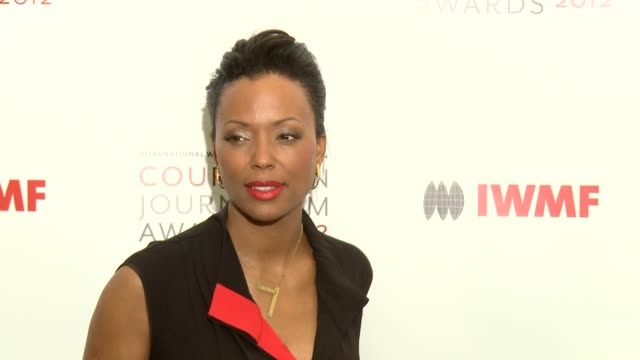 Aisha Tyler at IWMF 'Courage In Journalism' Awards on in Beverly Hills CA