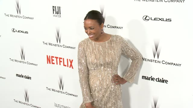 Aisha Tyler at the 2015 Weinstein Company And Netflix Golden Globe After Party at Robinsons May Lot on January 11 2015 in Beverly Hills California