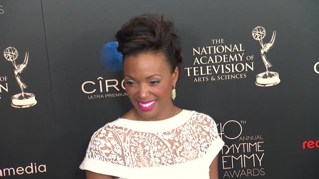 Aisha Tyler at The 40th Annual Daytime Emmy Awards on 6/16/13 in Los Angeles CA