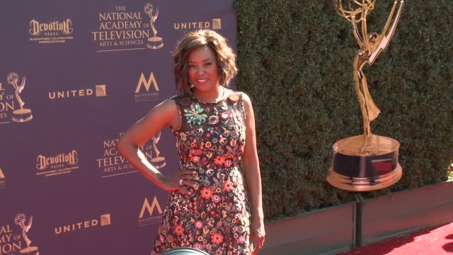 Aisha Tyler at the 44th Annual Daytime Emmy Awards at Pasadena Civic Auditorium on April 30 2017 in Pasadena California