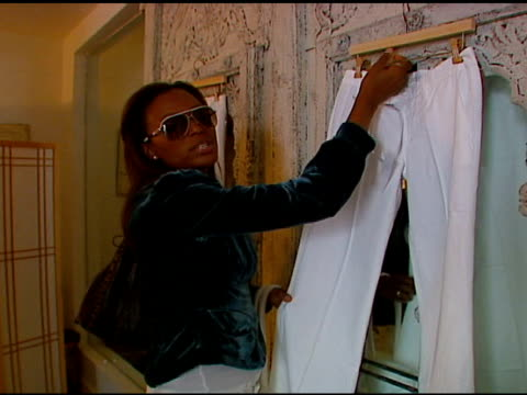 Aisha Tyler at the 7 For All Mankind WhiteHot Summer Luncheon Celebrating Summer Whites at SUR Restaurant in West Hollywood California on July 20 2006