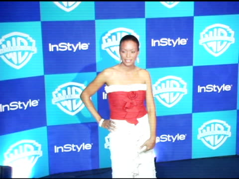 Aisha Tyler at the InStyle/Warner Brothers Golden Globes Party at the Beverly Hilton in Beverly Hills California on January 16 2006