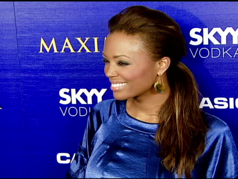 Aisha Tyler at the The Maxim Style Awards Presented by Casio at Avalon in Hollywood California on September 18 2007