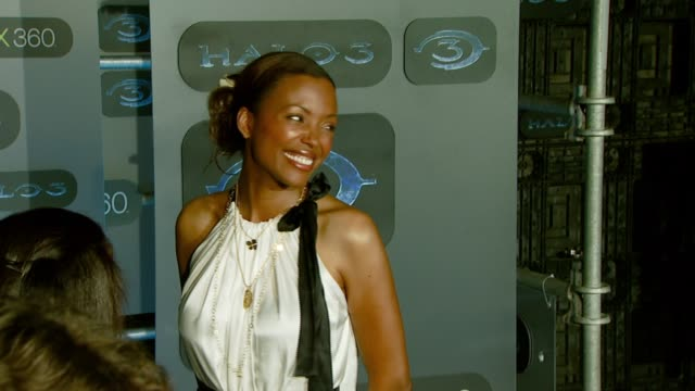 Aisha Tyler at the XBOX 360® HALO 3 Sneak Preview at Quixote Studios West in Hollywood California on May 15 2007