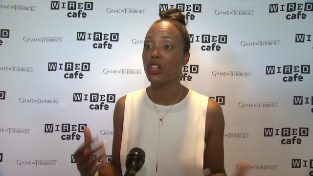 INTERVIEW Aisha Tyler calls ComicCon the Nerd Prom and on the craziest costumes she's seen WIRED Cafe @ ComicCon Day 2 at Omni Hotel on July 26 2014...