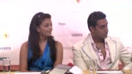 Aishwarya Rai and Abhishek Bachchan at the Cannes Film Festival 2009 Cinema Verite photocall and press conference at Cannes