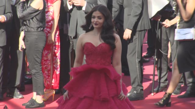 Aishwarya Rai at 'Come Swim' Red Carpet at on May 20 2017 in Cannes France