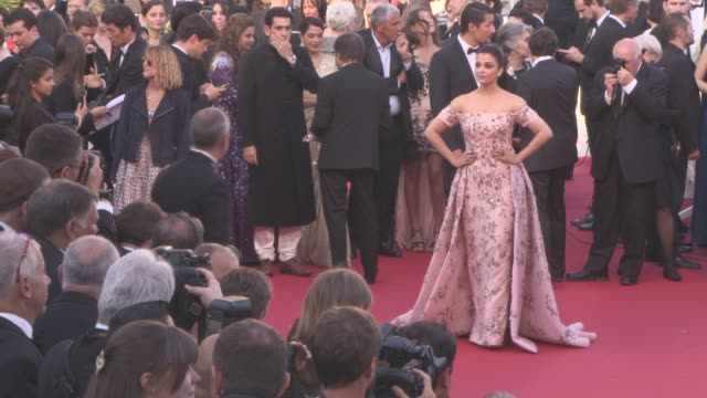 Aishwarya Rai at 'Mal de Pierres' Red Carpet at Grand Theatre Lumiere on May 15 2016 in Cannes France