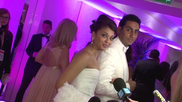 Aishwarya Rai Bachchan and Abhishek Bachchan at the Cannes Film Festival 2009 Gala Dinner Arrivals at Cannes