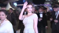 Aishwarya Rai Bachchan at the Opening Night Dinner during the 64th Cannes Film Festival at the Opening Gala Dinner 64th Cannes Film Festival at Cannes