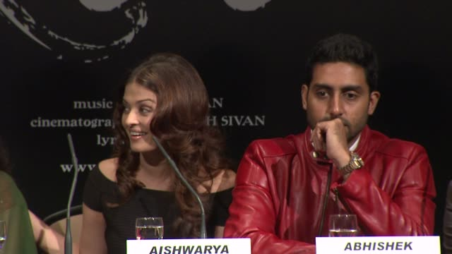 Aishwarya Rai Bachchan discusses her experience on set at the Raavan Event and Interviews Cannes Film Festival 2010 at Cannes