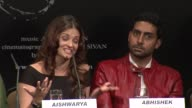 Aishwarya Rai Bachchan on her working relationship on set with Abhishek and their dynamic during shooting at the Raavan Event and Interviews Cannes...
