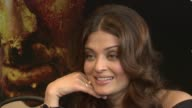 Aishwarya Rai Bachchan on the physical and natural challenges on set and her specific experiences during the shoot at the Raavan Event and Interviews...